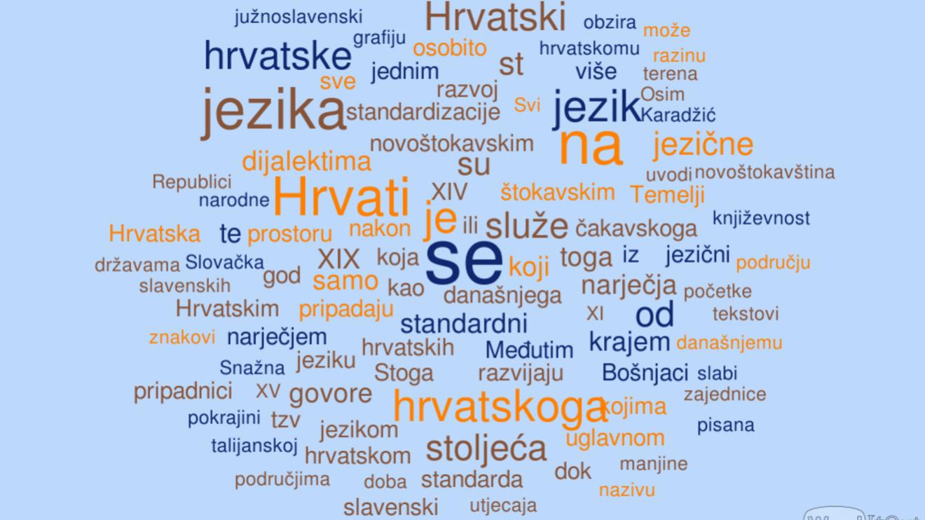 Хорватский, а что с ударением?