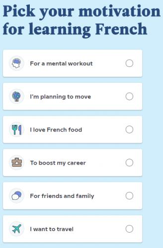 Выбор опции