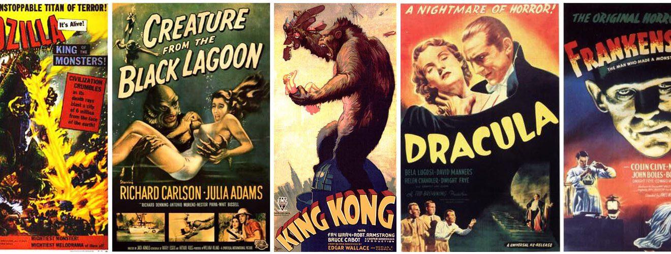 Фильмы на английском языке. Ретро-прародители современных кино-монстров
