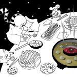 Китай. Урумчи: студенческая еда, эксперимент