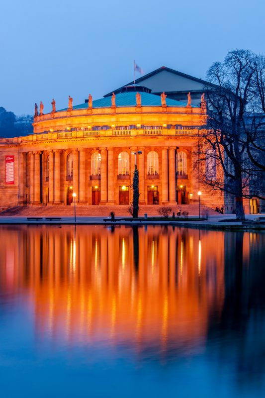 Государственная опера Staatsoper stuttgart