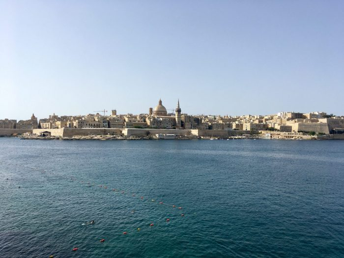 Валетта и Три города вид с моря