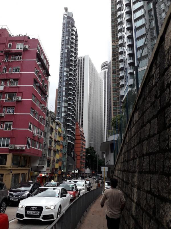 Высотки в Гонконге