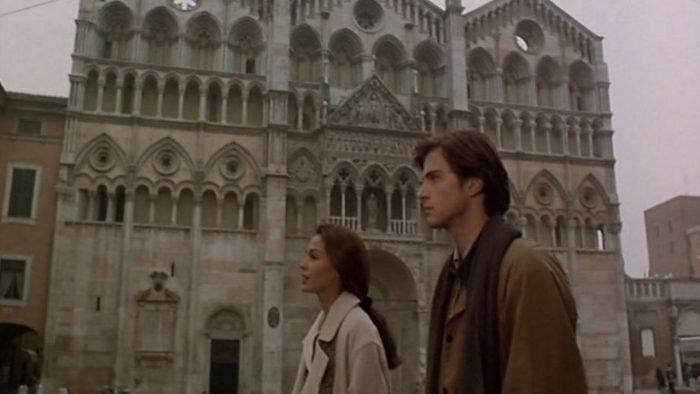 Кадр из фильма «За облаками» (1995), реж. Микеланджело Антониони, Вим Вендерс