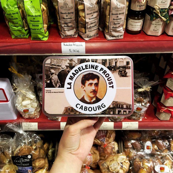 Печенье madeleine de Proust
