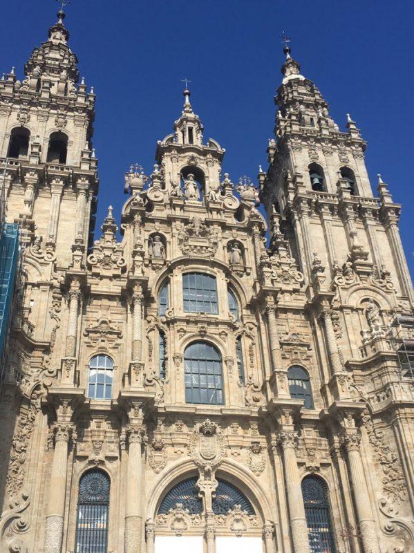 Собор святого Иакова в Сантьяго-де Компостелла