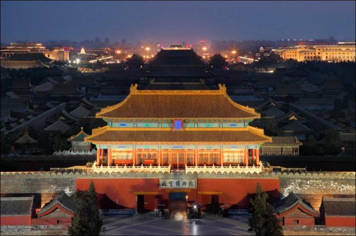 Вид на бывшую императорскую резиденцию