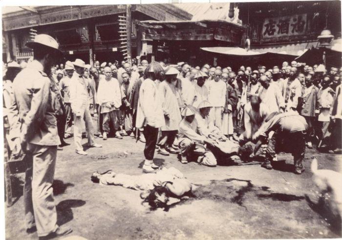 Цайшикоу, место казней