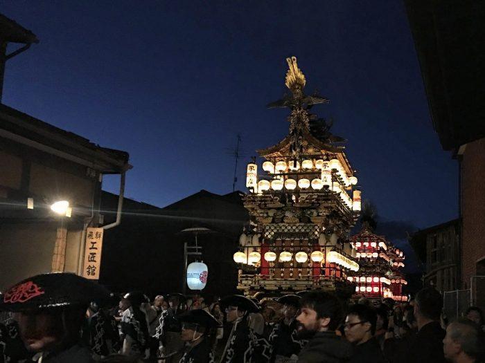 Фестиваль в Такаяме