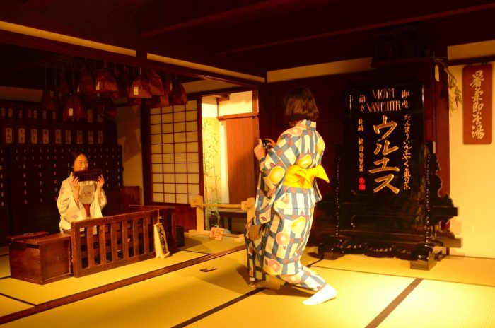 Внутри Osaka Museum of Housing and Living