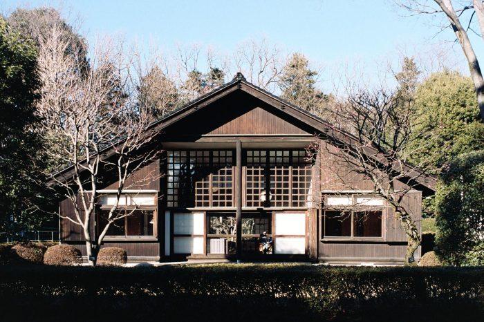 Внутри архитектурного музея Эдо-Токио