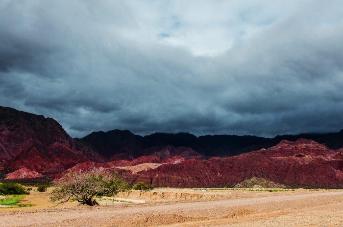 La Yesera (разноцветные горы) 2
