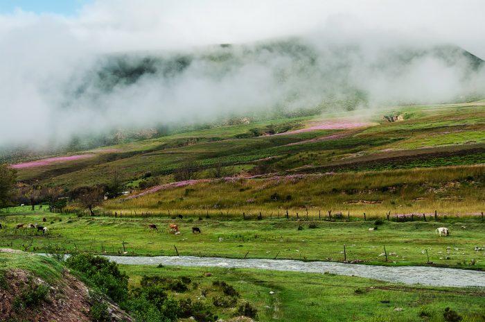 пейзажи по дороге к разноцветным горам