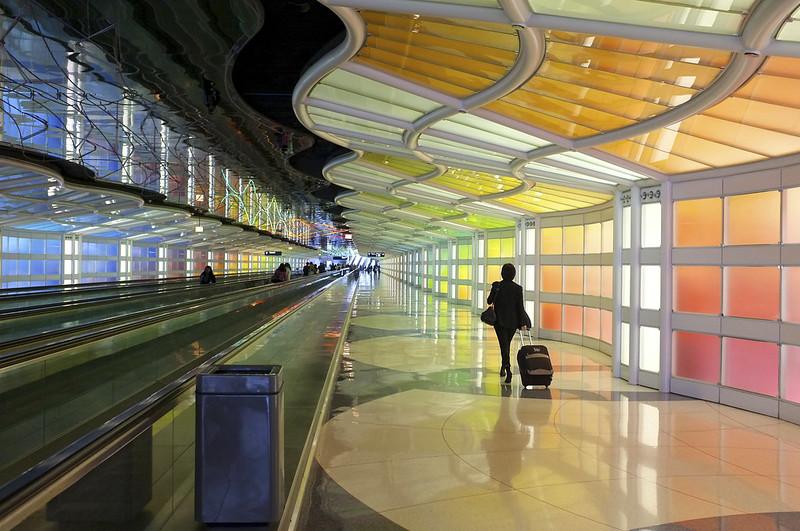 Аэропорту В