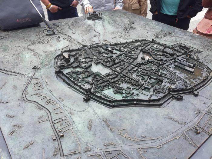 Макет города Брно