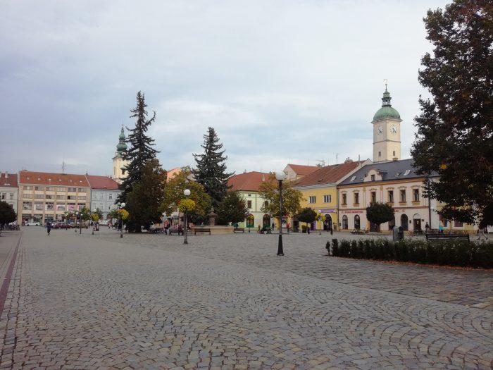 Марьянская площадь в Угерске Градиште