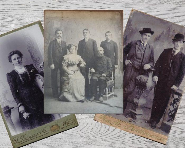 Фотографии Можаевых и Заморских