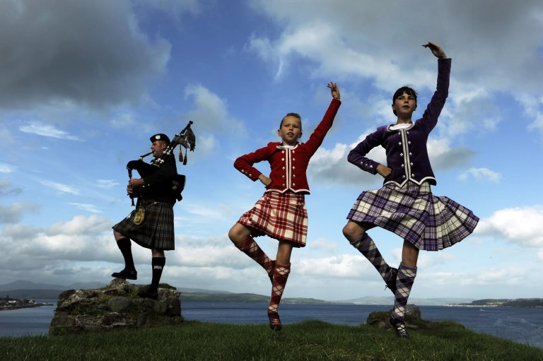 шотландский танец