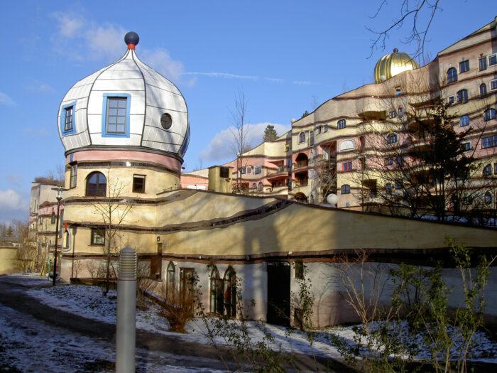 Дом, напоминающий мне сказку про Алладина